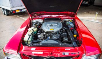 Mercedes W107 SL500 Red full